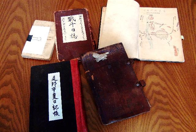 掘りおこされた従軍兵士の「日記」