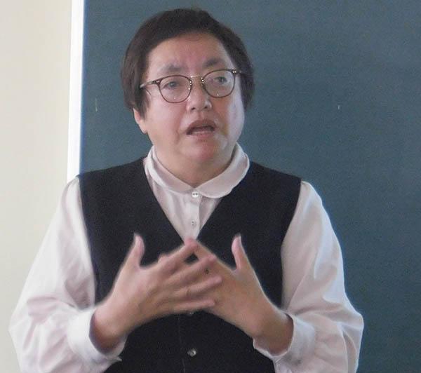 藤村妙子さんが「東京満蒙開拓団ーその背景と史実から学ぶもの」を講演