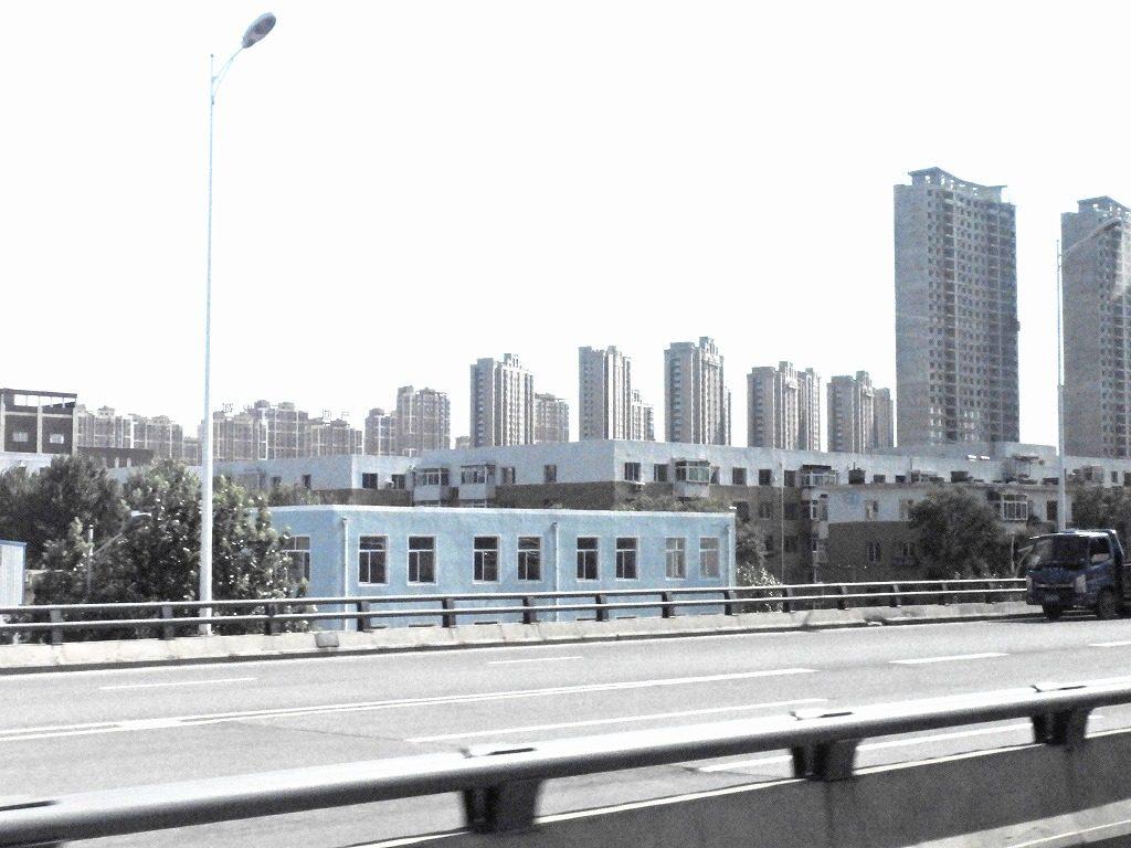 高層ビルが並ぶ瀋陽の街並み
