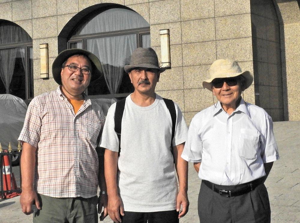 左から池田和則さん、町田貞一さん、津和崇さんの団員3名