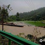 江西省北部一部地域で冠水した農地