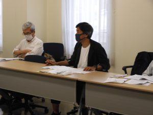 伊藤光隆事務局次長の議長で会議を進めた