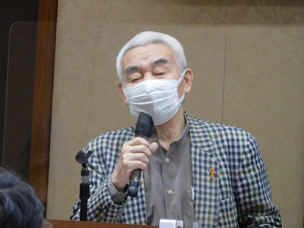 田中宏先生(一橋大学名誉教授)