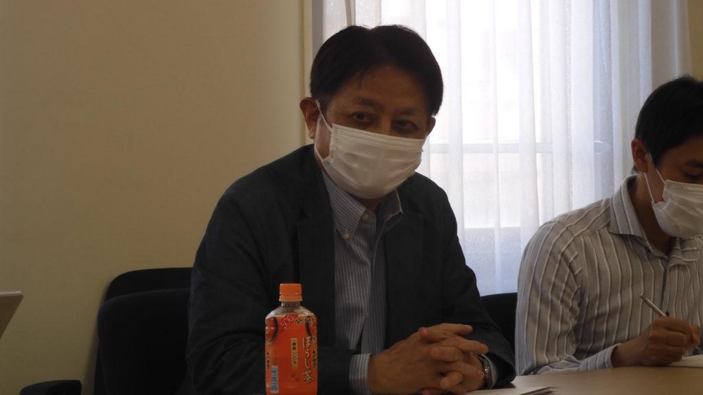 垣沼陽輔(日中労交副会長)