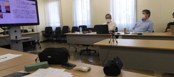 辰巳知二氏の講演「最近の米中関係と日本の中国政策」