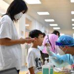 小学校で児童に対するPCR検査
